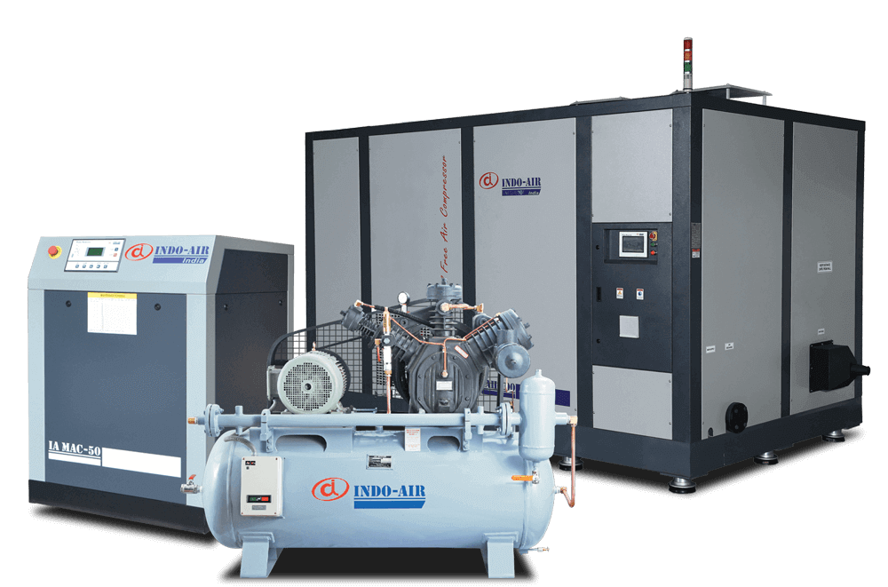 Industrial Air Compressor Manufacturers India, Ahmedabad