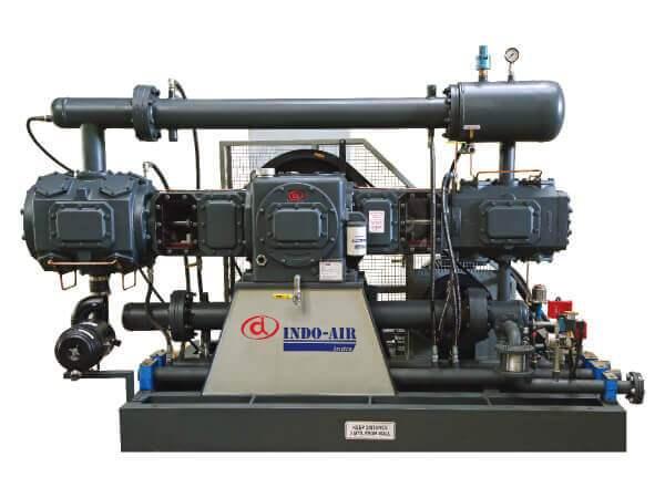 Oil Free Medium Pressure Air Compressor in India   INDO-AIR